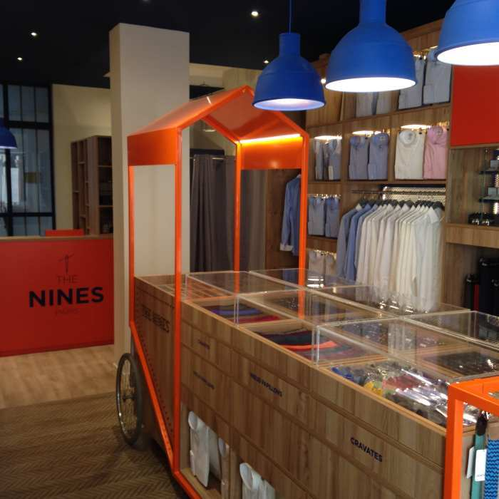image dedans boutique madeleine the nines