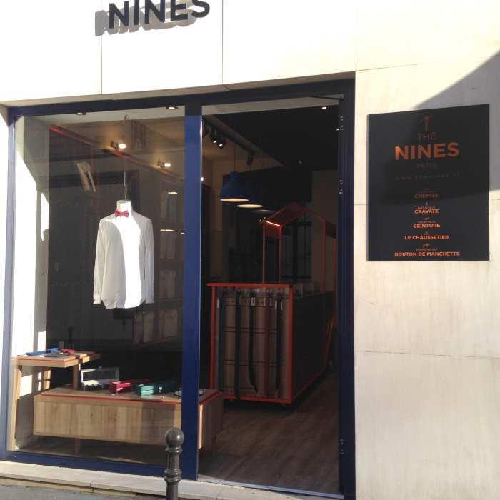 image devanture boutique madeleine the nines