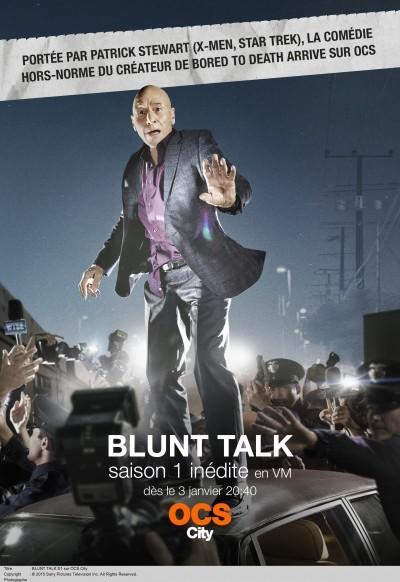 Blunt Talk, saison 1 : Patrick Stewart et le monde fou de la télévision américaine