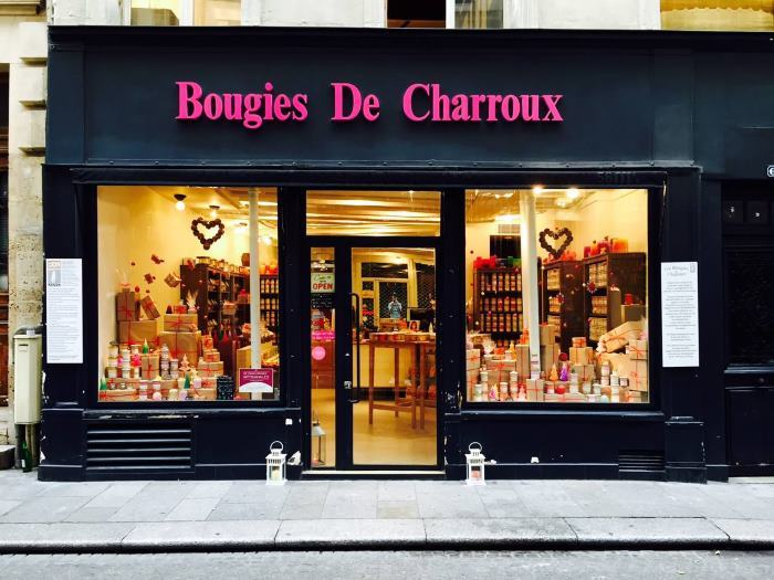 image magasin bougies charroux
