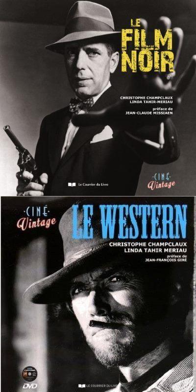 [Concours – Livres & BD] Ciné Vintage : 2 livres «Le Western» et 2 livres «Le Film Noir» à gagner