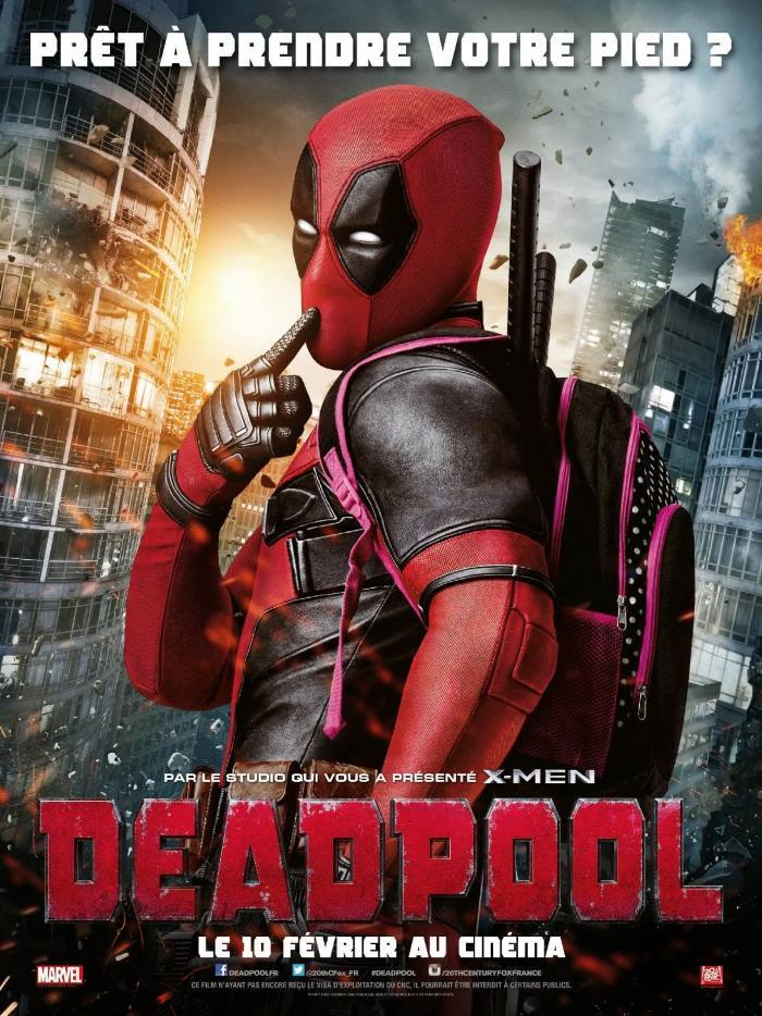 image affiche deadpool
