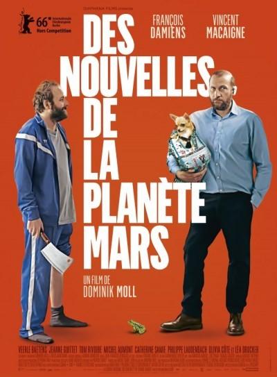 image affiche des nouvelles de la planete mars