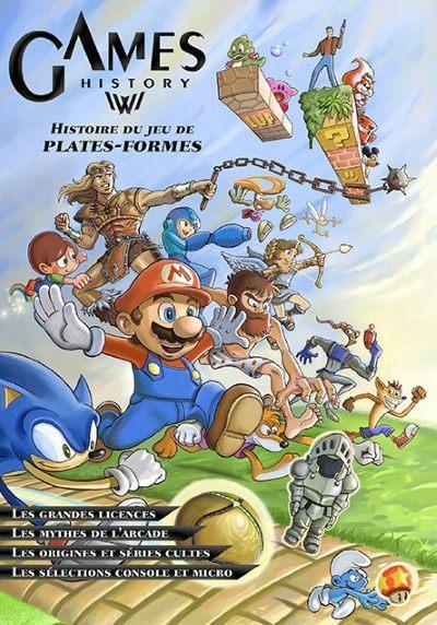 image couverture games history tome 4 histoire du jeu de plates-formes