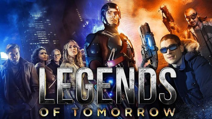 image affiche legends of tomorrow