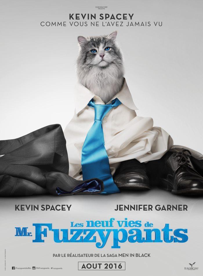 image affiche les neuf vie de mr fuzzypants