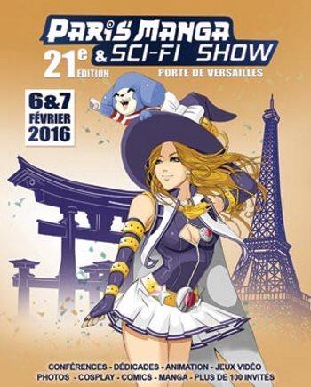 image logo paris manga 2016