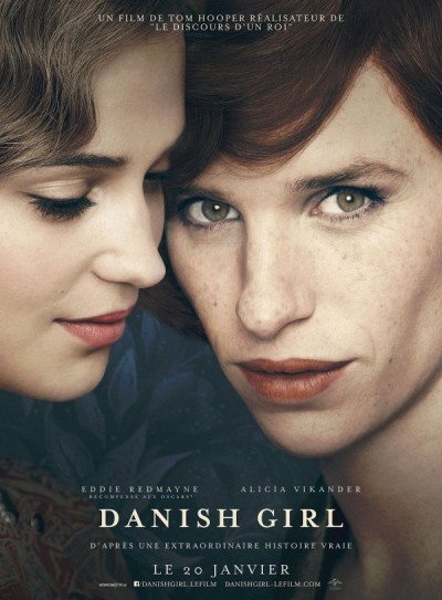 image affiche the danish girl tom hooper
