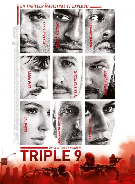 image affiche triple 9