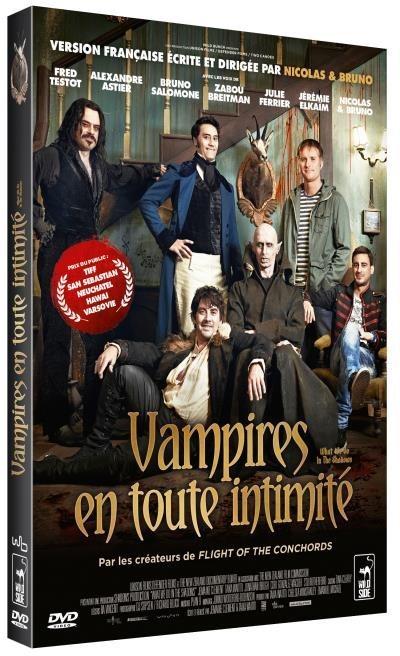 image DVD vampire en toute intimité