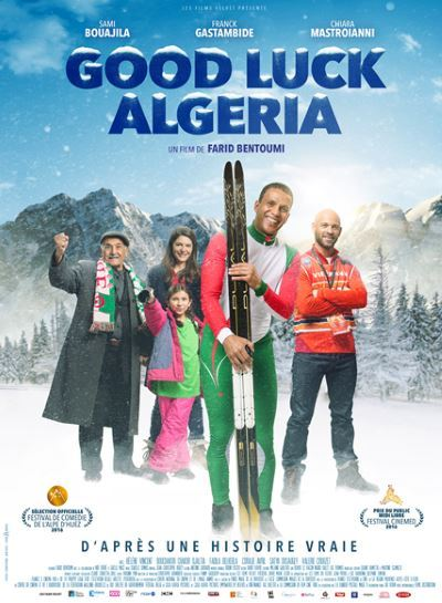 image affiche good luck algeria