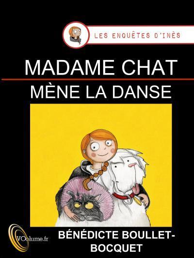 image couverture madame chat mene la danse