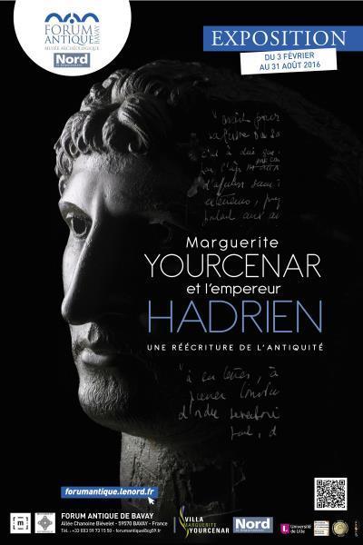 image affiche empereur hadrien marguerite yourcenar