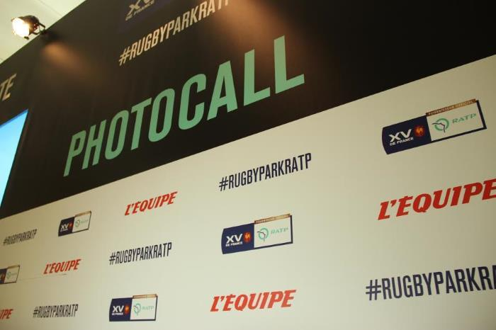 image photocall ratp rugby park