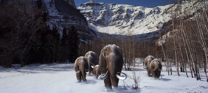 image la géode titans del'age de glace
