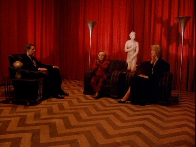 image twin peaks david lynch saison 1 red room