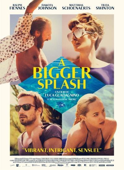 image affiche a bigger splash