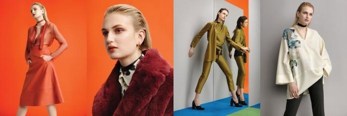image modèles cacharel automne hiver 2016/2017