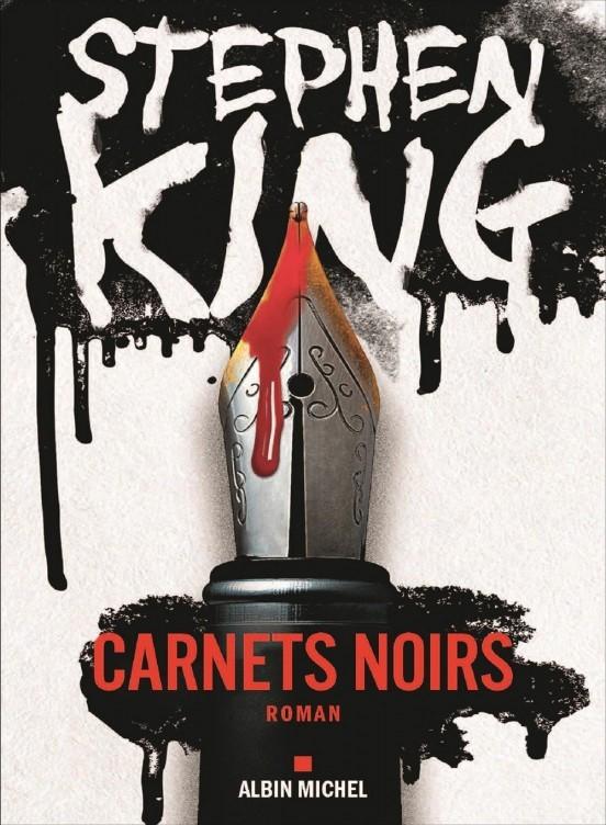 image couverture carnets noirs stephen king éditions albin michel