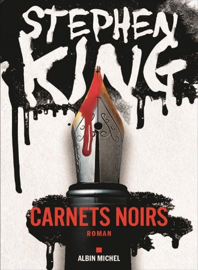 image couverture carnets noirs stephen king éditions albin michel