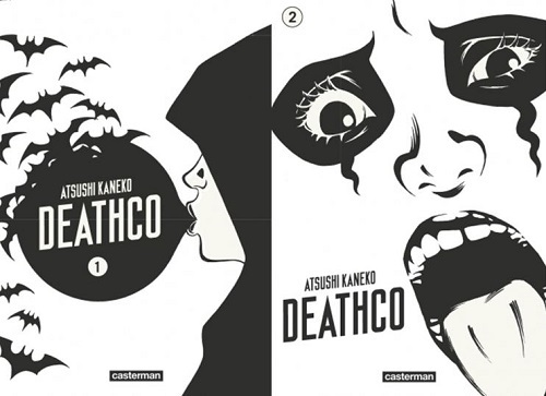image couverture deathco tome 1 tome 2 atsushi kaneko casterman