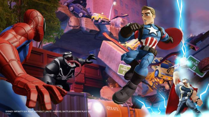 image captain america marvel battlegrounds disney infinity