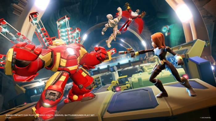 image screenshot marvel battlegrounds disney infinity