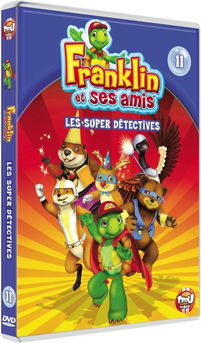 image les super detectives franklin