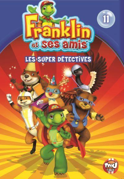 [Concours – Programmes jeunesse] Gagnez 2 DVD de Franklin et ses Amis – Les Super Détectives