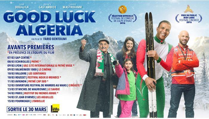 image avant premières good luck algeria