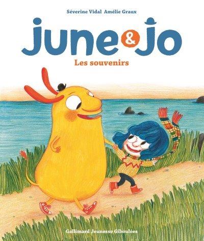 [Critique] June et Jo : les souvenirs – Séverine Vidal et Amélie Graux