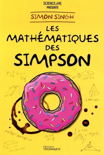 image couverture les mathématiques des simpson simon singh éditions télémaque