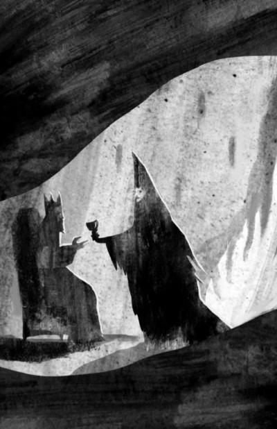 illustration nicolas duffaut les yeux du dragon flammarion jeunesse