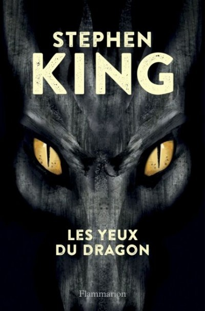 image couverture stephen king les yeux du dragon flammarion jeunesse