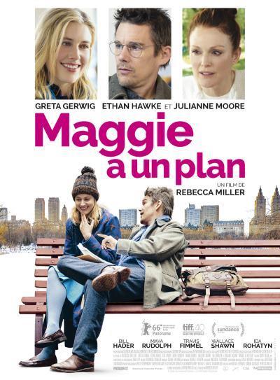 [News – Cinéma] Maggie a un plan : Greta Gerwig essaye de se débarrasser d'Ethan Hawk dans ce trailer