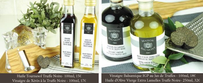 image tartare huile vinaigre truffe maison baumont