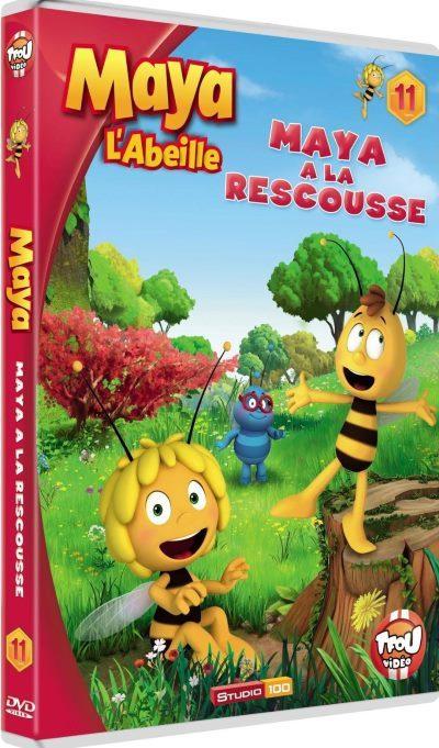 image dvd maya l'abeille volume 11 maya à la rescousse