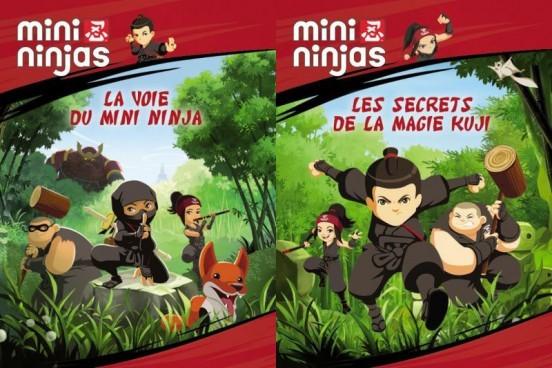 image concours mini ninjas dvd volume 1 volume 2 tf1 vidéo