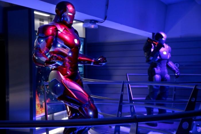 image marvel avengers station exposition salle captain america