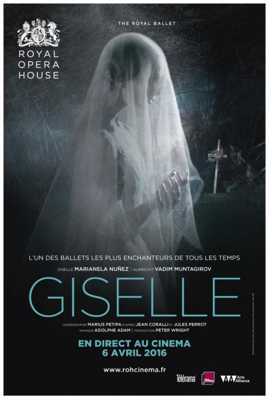 image affiche royal opera house live giselle