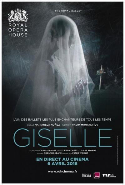 [Reportage] Gisellepar le Royal Opera House : Le Grand Ballet et l'Opéra en direct du cinéma
