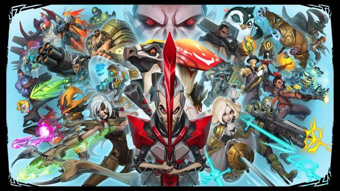image artwork battleborn
