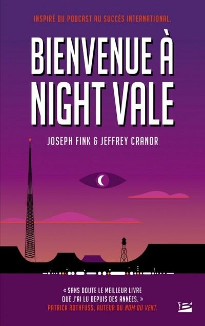 image couverture bienvenue à night vale joseph fink jeffrey cranor bragelonne