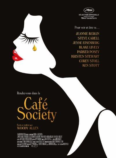 image affiche café society