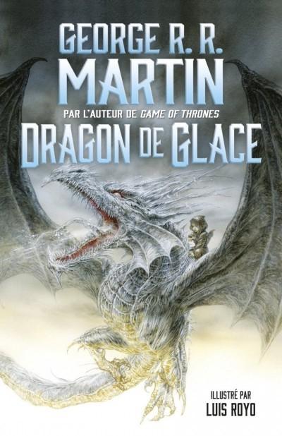 image couverture dragon de glace george r. r. martin luis royo flammarion jeunesse