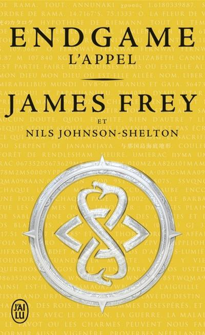 [Critique] Endgame Tome 1 : L'appel – James Frey et Nils Johnson-Shelton