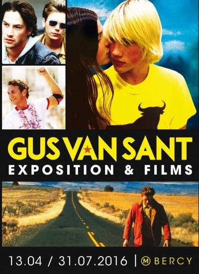 image affiche exposition gus van sant la cinémathèque française