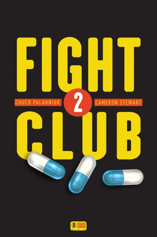 image couverture fight club 2 chuck palahniuk cameron stewart éditions super 8