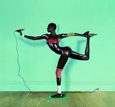 image grace jones jean-paul goude nigger arabesque 1978