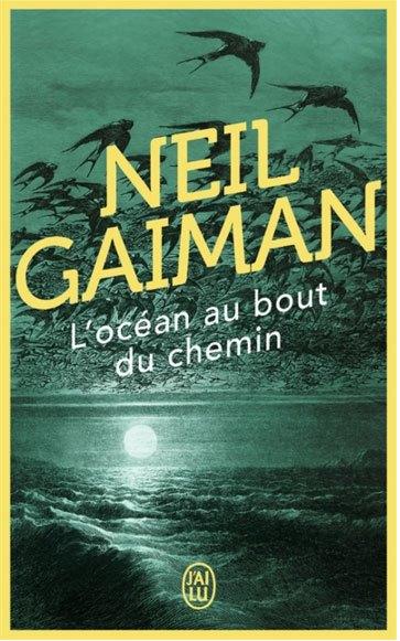 image couverture l'océan au bout du chemin neil gaiman éditions j'ai lu